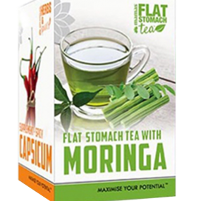 Flat Tummy Tea with Moringa and Capsicum