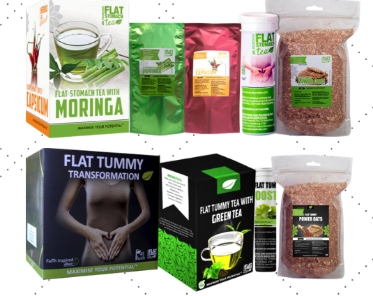 Flat stomach Business in a box